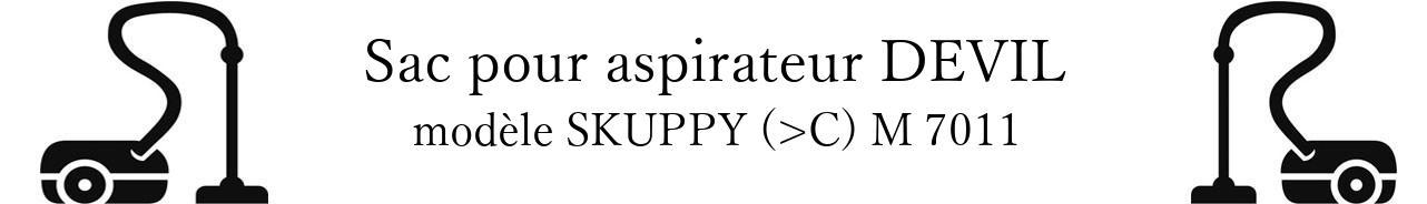 Sac aspirateur DIRT DEVIL SKUPPY (>C) M 7011 en vente