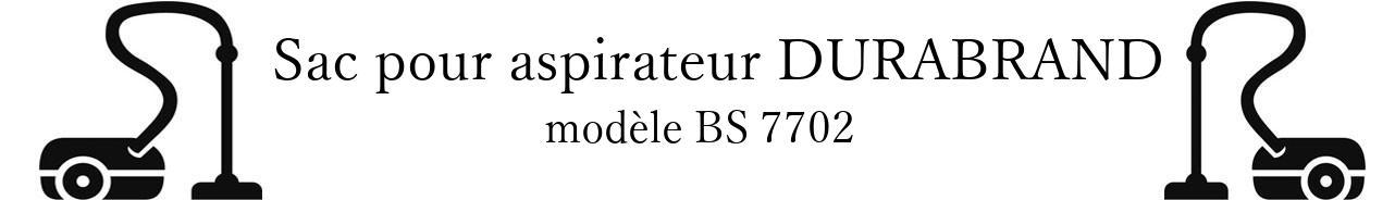 Sac aspirateur DURABRAND BS 7702 en vente