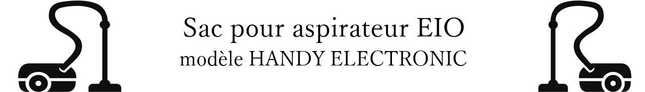 Sac aspirateur EIO HANDY ELECTRONIC en vente