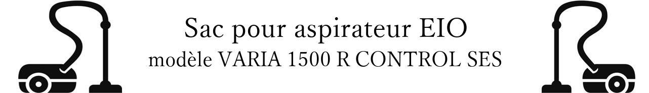 Sac aspirateur EIO VARIA 1500 R CONTROL SES en vente