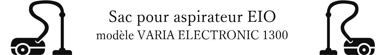 Sac aspirateur EIO VARIA ELECTRONIC 1300 en vente