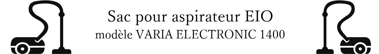 Sac aspirateur EIO VARIA ELECTRONIC 1400 en vente