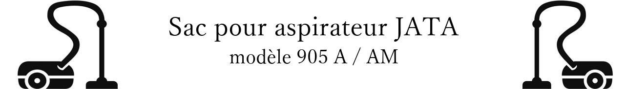 Sac aspirateur JATA 905 A / AM en vente